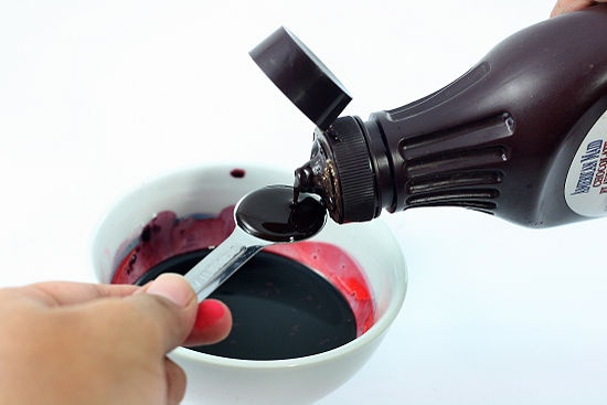 Fake Blood made from Chocolate Syrup. Perfect for Melbourne Zombie Walk fun!