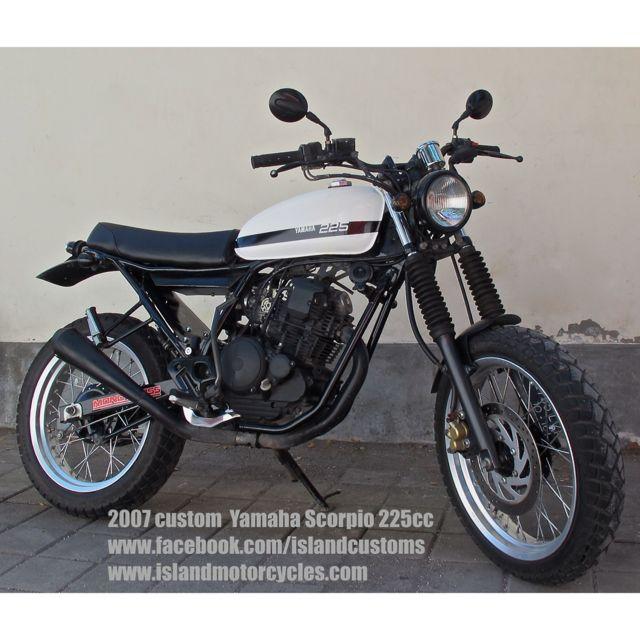 Custom Yamaha Scorpio 225  Island Motorcycles - Bali    www.facebook.com/islandcustoms   www.islandmotorcycles.com