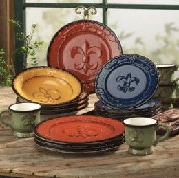tuscan dinnerware | Mediterranean Dinner Sets and Tuscan Style Dinnerware