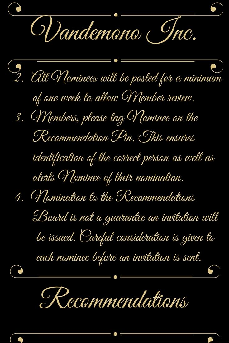 Recommendations 2