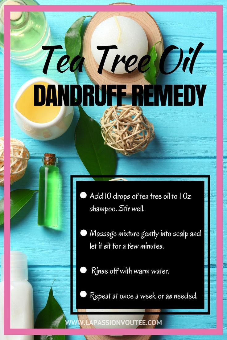 5 Benefits of Tea Tree Oil for your personal and household needs   Find out how to use this toxic-free, tea tree essential oil to remedy itchy, dry scalp, treat acne, banish bad breath and freshen laundry. Plus a recipe for dandruff treatment that has worked for me!