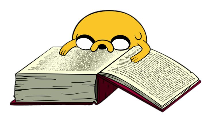 Check out this transparent adventure time jake reading a