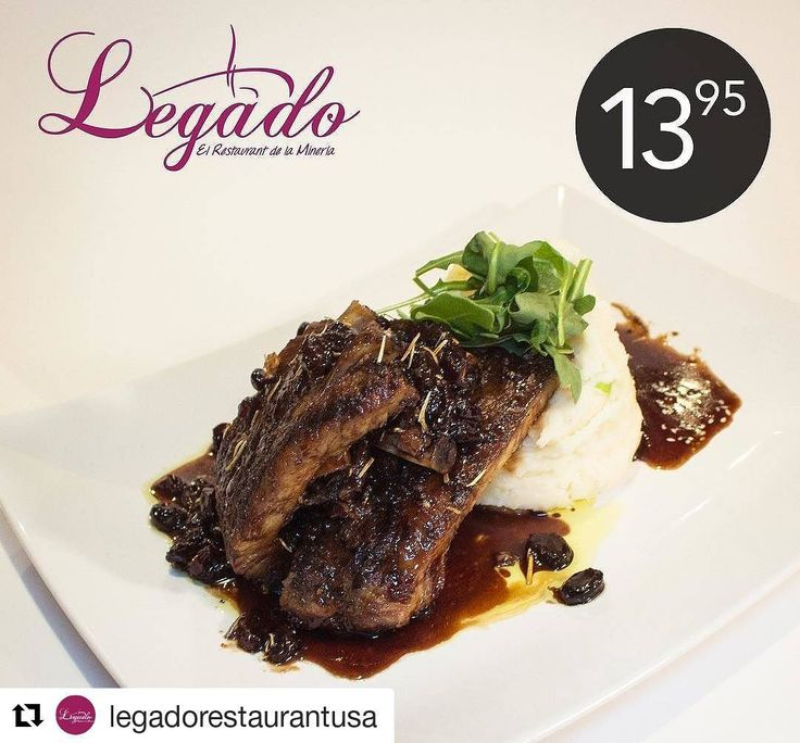 Credit to @legadorestaurantusa  Come and enjoy our New Lunch Menu ! Spare Rib on old red wine with raisins and mashed potatoes.!#legadonewlunchmenu #lunchmenu #legadorestaurant #legadohollywood #internationalfood #foodwithlove    #HollywoodTapFL #HollywoodFL #HollywoodBeach #DowntownHollywood #Miami #FortLauderdale #FtLauderdale #Dania #Davie #DaniaBeach #Aventura #Hallandale #HallandaleBeach #PembrokePines  #Miramar #CooperCity #Plantation #SunnyIsles #MiamiGardens #NorthMiamiBeach #Broward