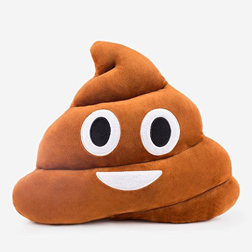 Poop Emoji Cushion