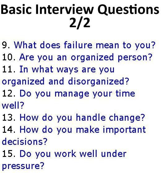 High Quality How To Spot Behavioral Interview Questions