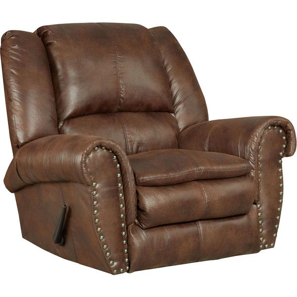 Flash Furniture Contemporary Brown Faux Leather Motion Recliner ($416) ? liked on Polyvore featuring  sc 1 st  Pinterest & Best 25+ Contemporary recliner chairs ideas on Pinterest | Brown ... islam-shia.org