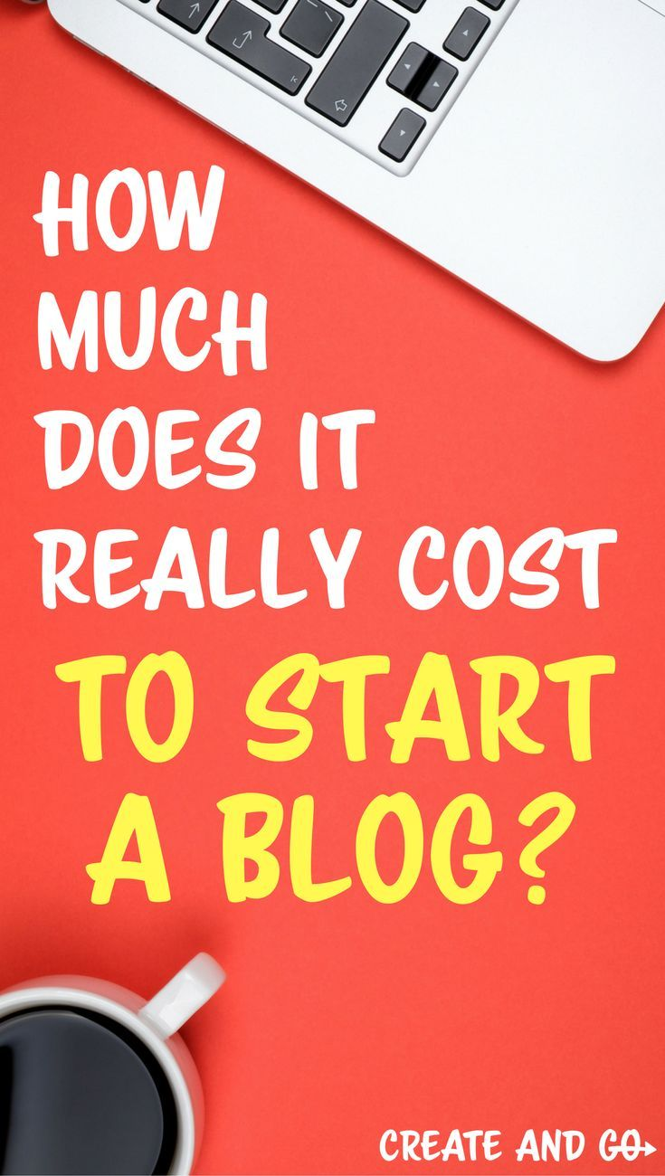 26d180391922 It can be a little overwhelming to get into the blogging biz and you re  probably wondering... How much does it really cost to start a blog