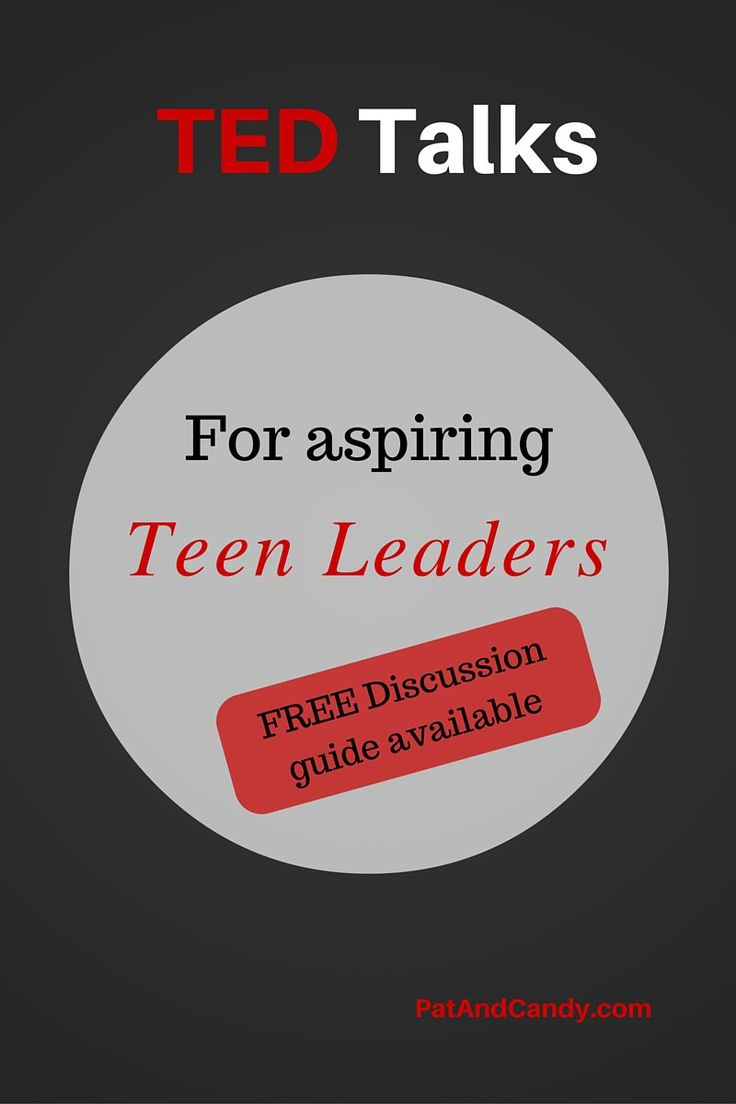 TED Talks for Teen Leaders