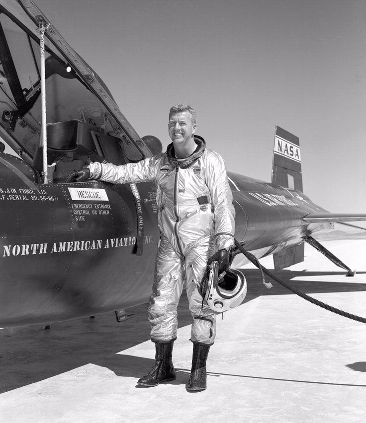 On January 17, 1963, NASA research pilot Joe Walker flew ...