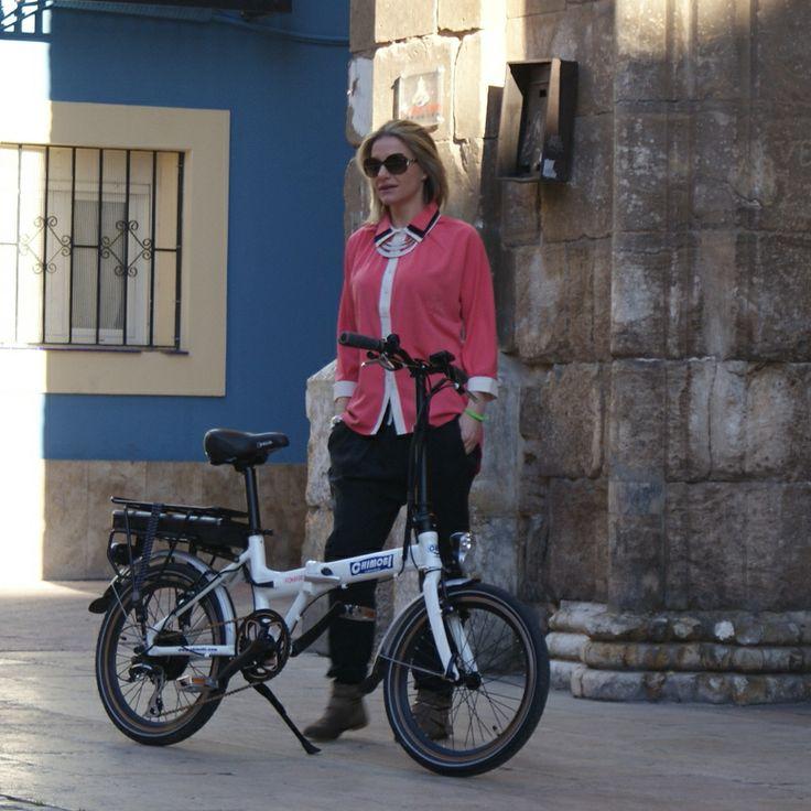 #bicicletaplegable #bicielectrica @Chimobi e-movement