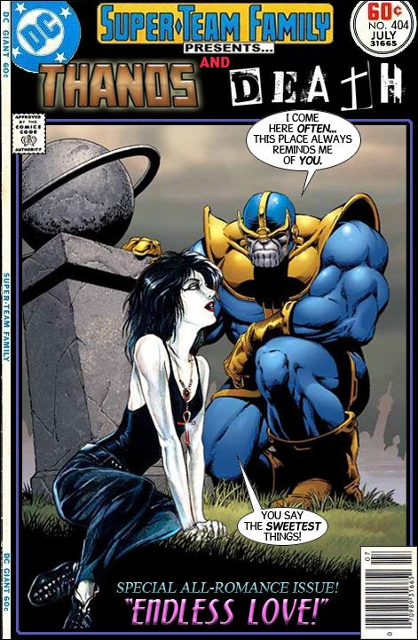 Thanos & Death of The Endless - Super Team Family: The Lost Issues