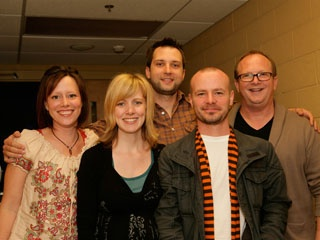 Sara Groves, Sandra McCracken, Brandon Heath, Derek Webb, Charlie Peacock...I saw them on the Art, Music, Justice Tour.  Amazing Concert!