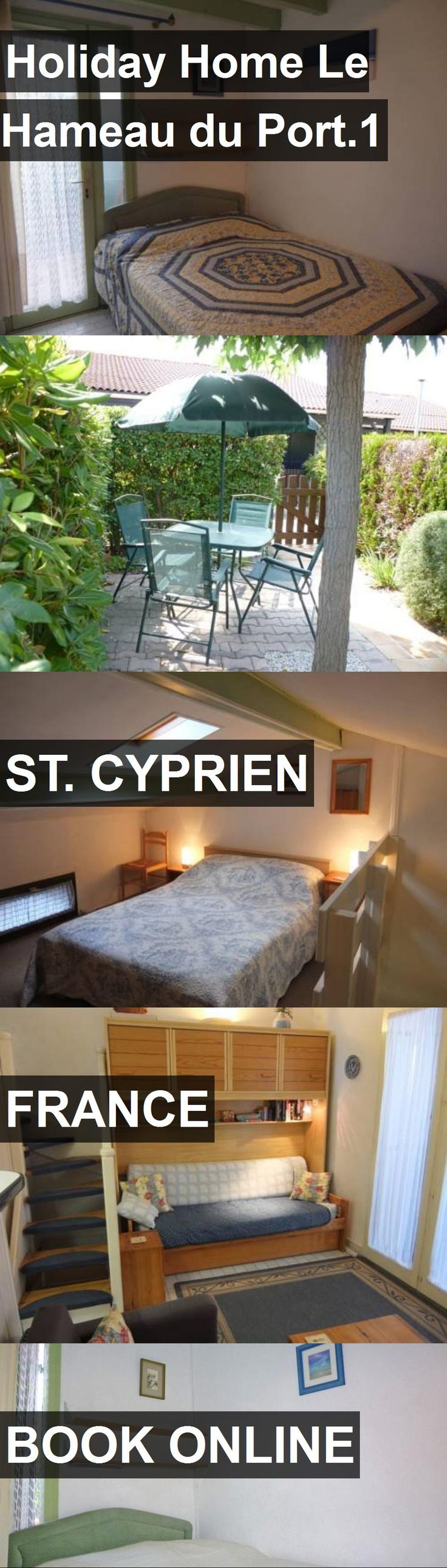 Hotel Holiday Home Le Hameau du Port.1 in St. Cyprien, France. For more information, photos, reviews and best prices please follow the link. #France #St.Cyprien #travel #vacation #hotel