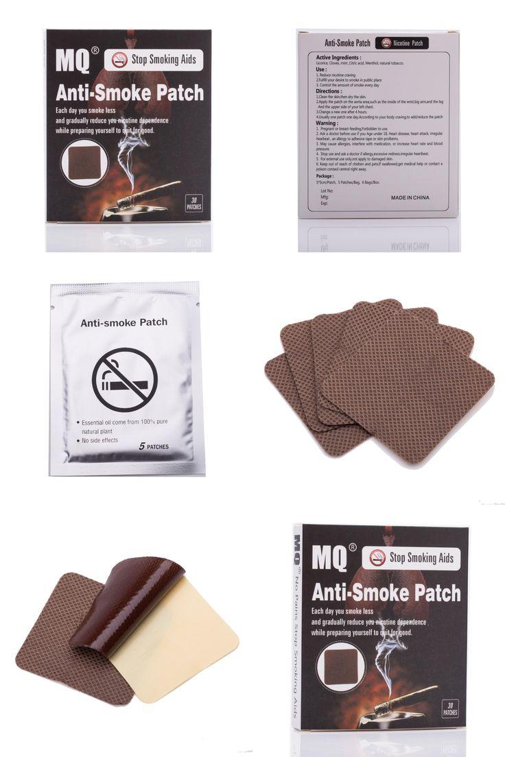 [Visit to Buy] 30pcs/box Stop Smoking Patches Natural Ingredient Stop Smoking Anti Smoke Patch Quit Smoke Cessation Health No side effect   #Advertisement