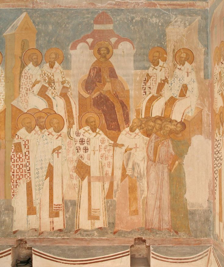 Dionisius, The Second Ecumenical Council, The Virgin Nativity Cathedral, Ferapontov Monastery
