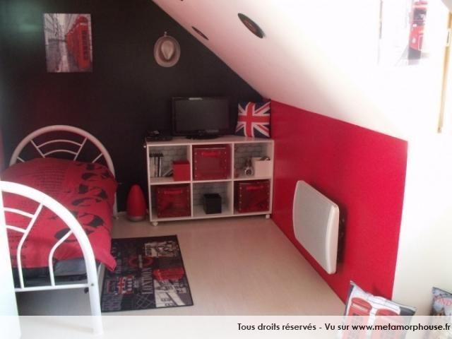 Photos décoration de Chambre d'ado fille Rouge Noir de maga76