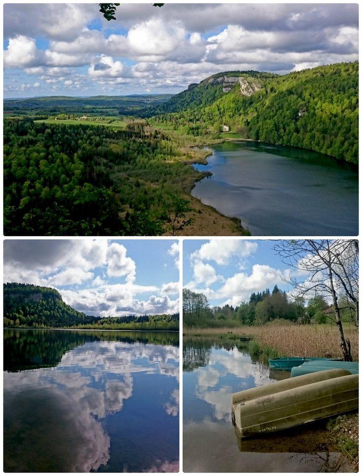 Le lac de Bonlieu, pour une parenthèse nature  Jura France  Magnifiques photos du Blog Micmatik  #JuraTourisme #Jura