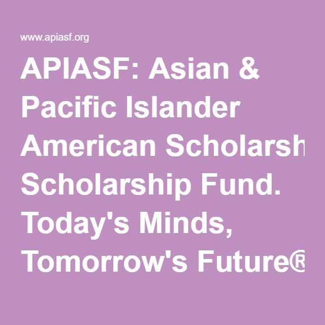 Asian scholar fund true