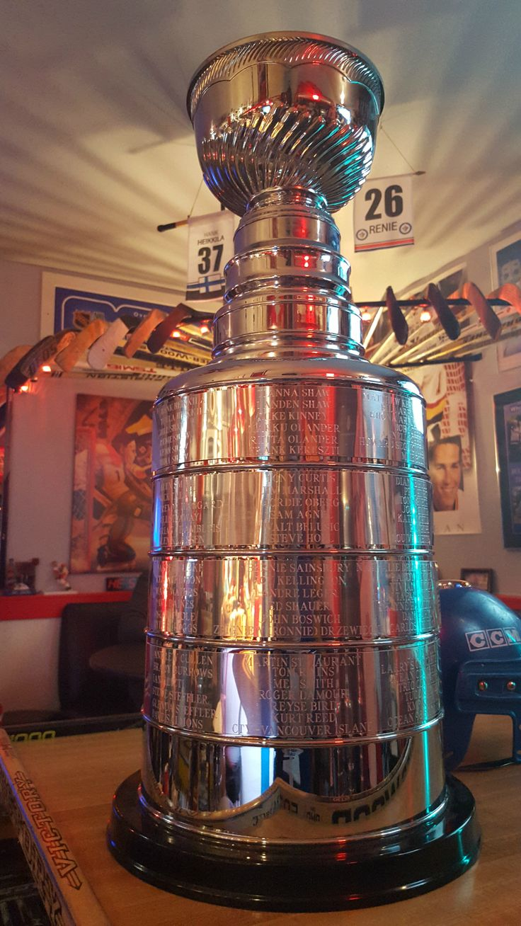 how to make a stanley cup trophy