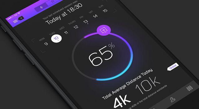 iPhone 6 Lunar UI Kit Free PSD