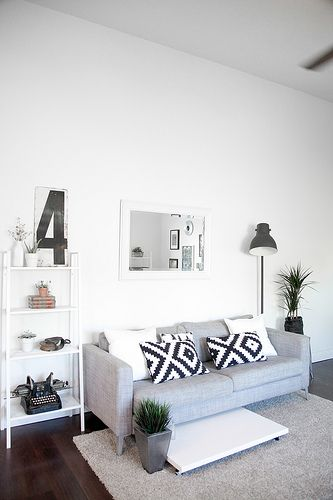 i like the little ladder. good for tall ceilinged spaces.