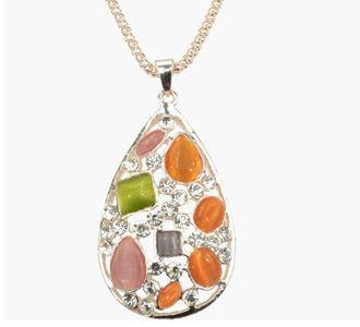 Colorful-Drop-Necklace