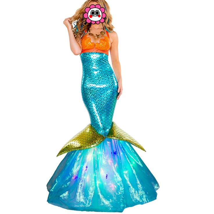 >> Click to Buy << Adult Fantasia Mermaid Tail Costume Sexy Adult Ariel Mermaid Costume for Girl Fancy Women Mermaid Costumes Dress #Affiliate