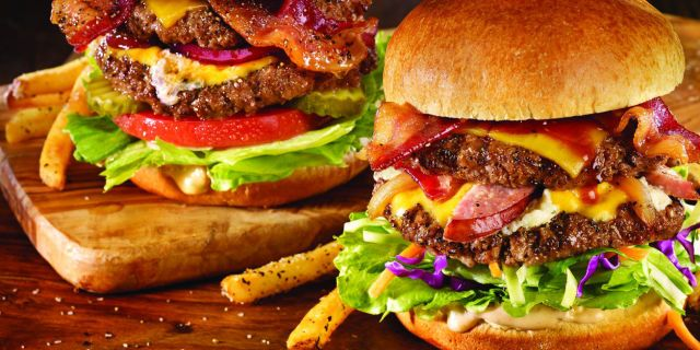 TGI Fridays Jump Burger Promotion