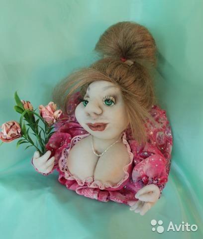 Куклы-попик на удачу Петербург