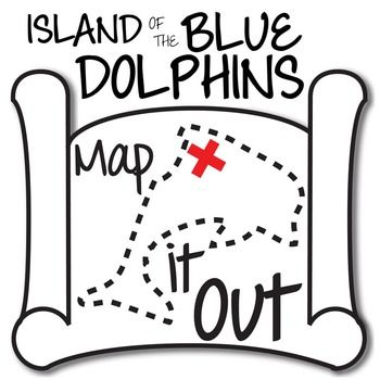 best island of the blue dolphins images dolphins island of the blue dolphins map it out activity using locations mentioned in the