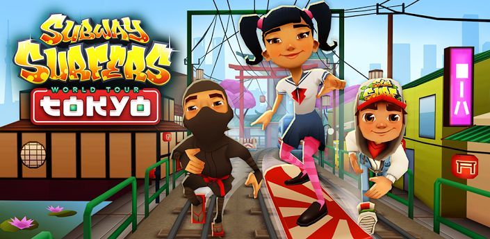 Subway Surfer v1.10.2 Ultimate Edition - Frenzy ANDROID - games and aplications