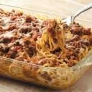 Baked Spaghetti - I made this for hubby, who loves casseroles, and he gives it two thumbs up!  Tested recipe!