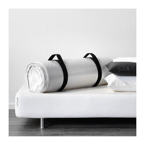 MALVIK Schaummatratze - 140x200 cm, mittelfest/weiß - IKEA