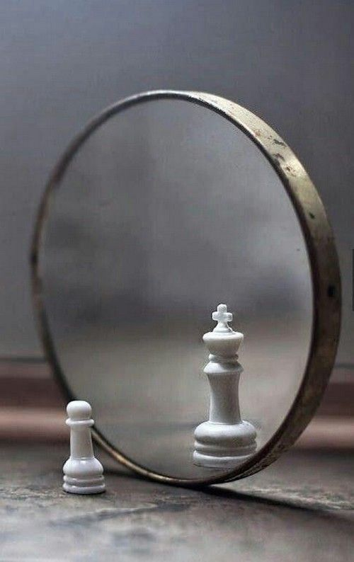 what you see in your self is your move. and you only get one piece.