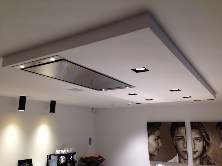 Mooi verlaagd plafond in keuken  Keuken in 2019  Ceiling