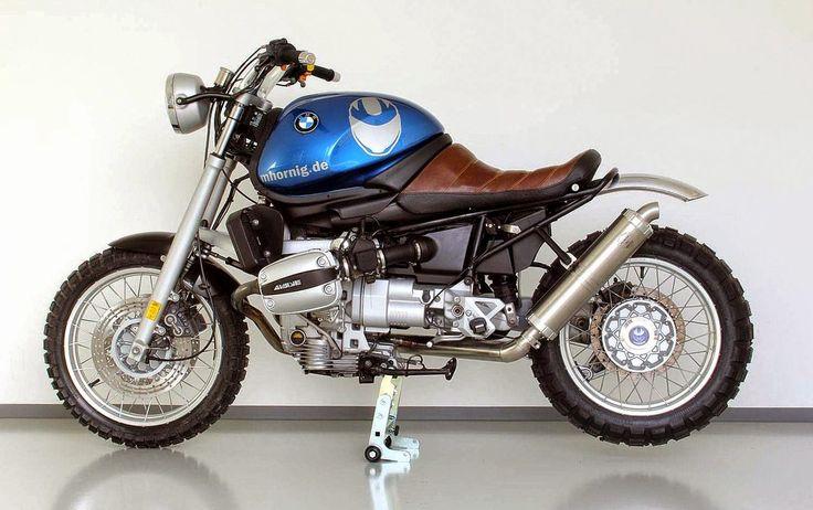 BMW R1100R Scrambler Umbau