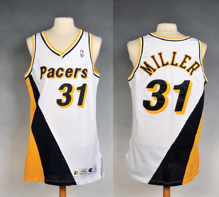 finest selection a6c35 36846 reggie miller mitchell ness jersey