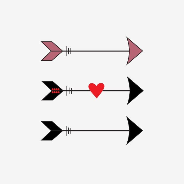 Lovely Arrow Clipart Png Vector Element Arrow Love Love Design Png And Vector With Transparent Background For Free Download Arrow Clipart Arrow Illustration Clip Art