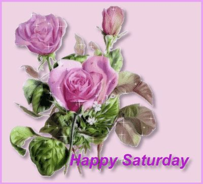 Happy Saturday pink days days of the week saturday weekdays saturday greeting beautiful saturday saturday gif