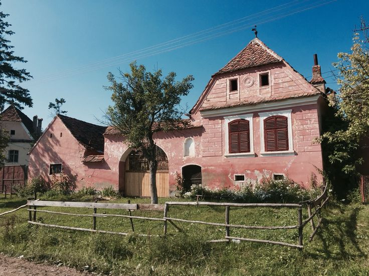 Roadeș village, near Viscri - bike ride friendly