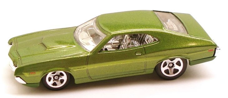 The'72 Ford Gran Torino Sport was based on the actual vehicle produced by Ford Motor Company in...