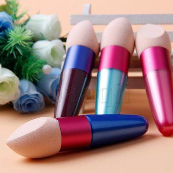 Lollipop Cosmetic Makeup Brushes Set Liquid Cream Foundation Sponge Brush