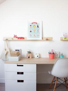 Schreibtisch mit Stuva