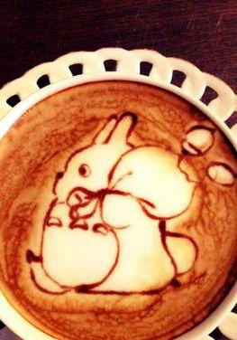 Latte Art - Tonari No #Totoro. Have You Seen The Animated Film?