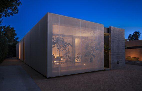 Tim's Urban Desert Light Box House Tour | Apartment Therapy