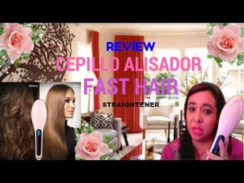 💇 Review del Cepillo Alisador Fast Hair Straighter 👸 Kailani Vlog