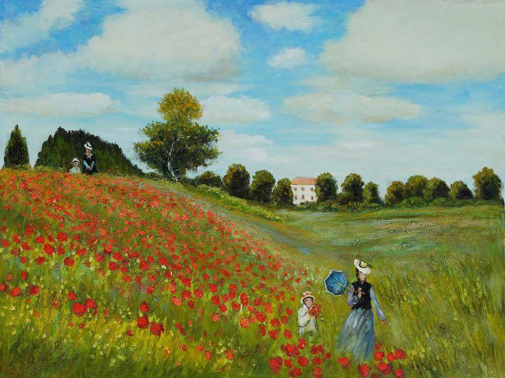 antique painting van gogh, monet | Claude Monet oil paintings