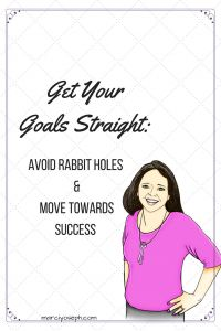 Keep your eyes on the prize!  We often get bogged down with tasks and lose sight of the goal.  Use these tips to keep it straight. Goals vs. tasks. marciyoseph.com/theparlor