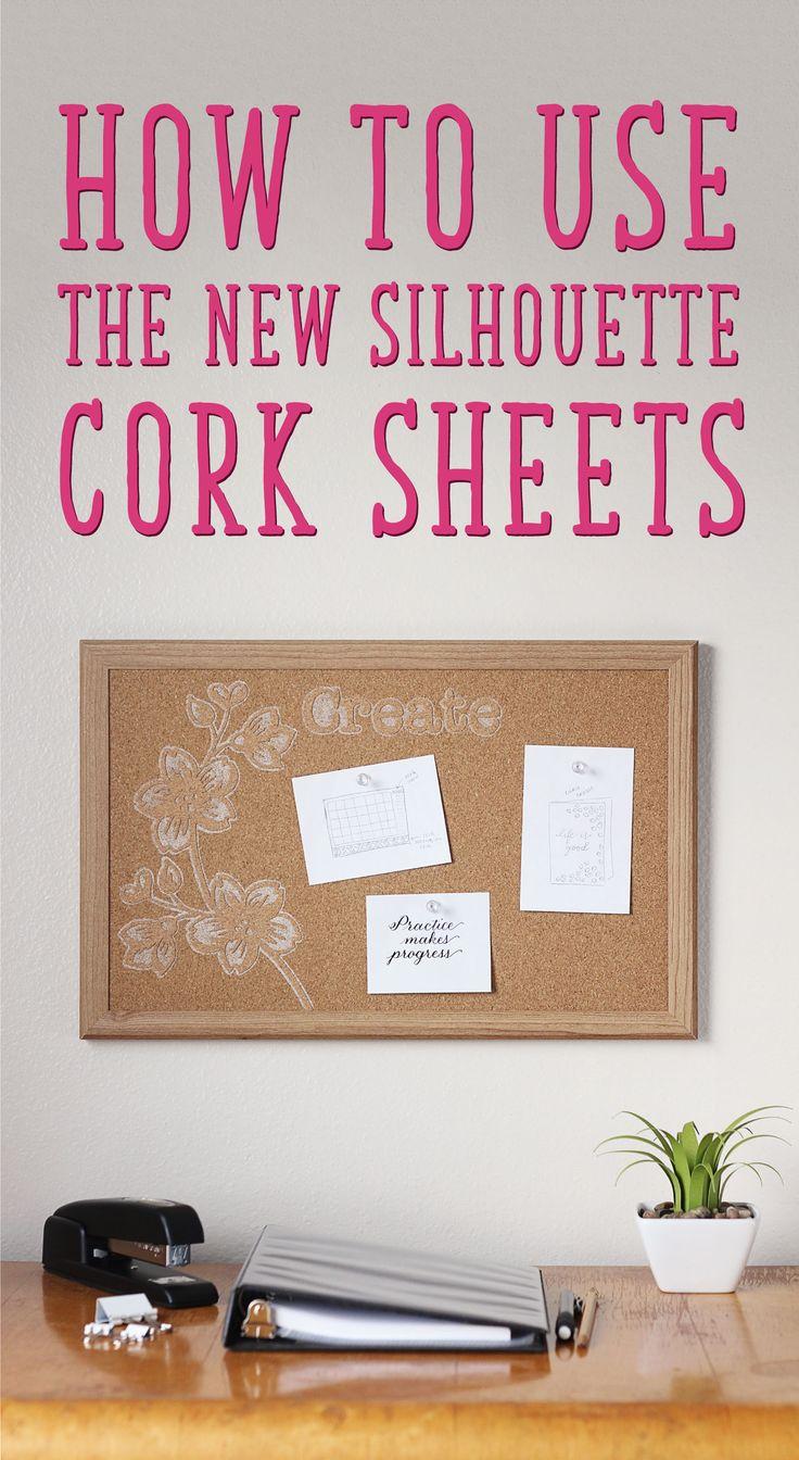about Cork Board Sheets on Pinterest  Cork wall tiles, Cork wall ...