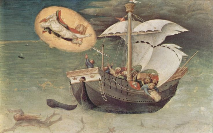 Miracolo di san Nicola di Bari, dal polittico Quaratesi (1425)